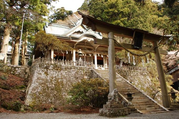 玉置神社 奈良