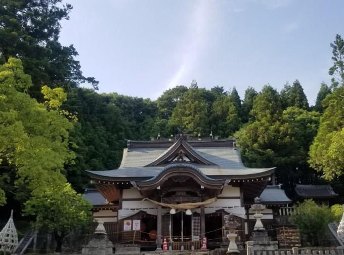 破磐神社 パワースポット