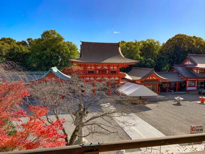 近江神宮  パワースポット