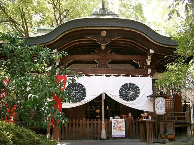 堀越神社 茶臼山
