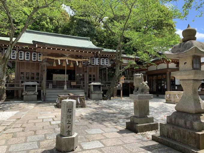 石切劔箭神社 上之宮
