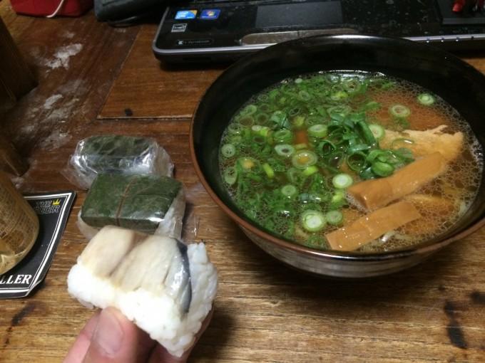 和歌山 なれ寿司  ラーメン