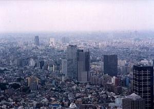東京都庁 展望室(新宿駅)
