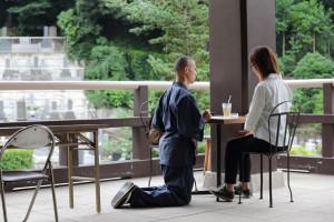 光明寺 オープンテラス(神谷町駅)