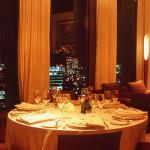 カップルにお勧めな夜景の都内の綺麗なレストラン