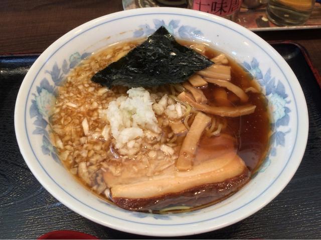 八王子ラーメン 麺や 石川
