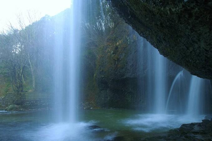 月待の滝(久慈郡)