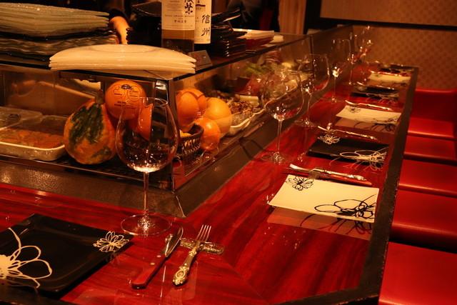 ワイン懐石 銀座 囃shiya