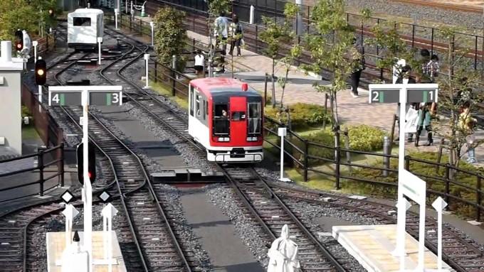 ミニ運転列車