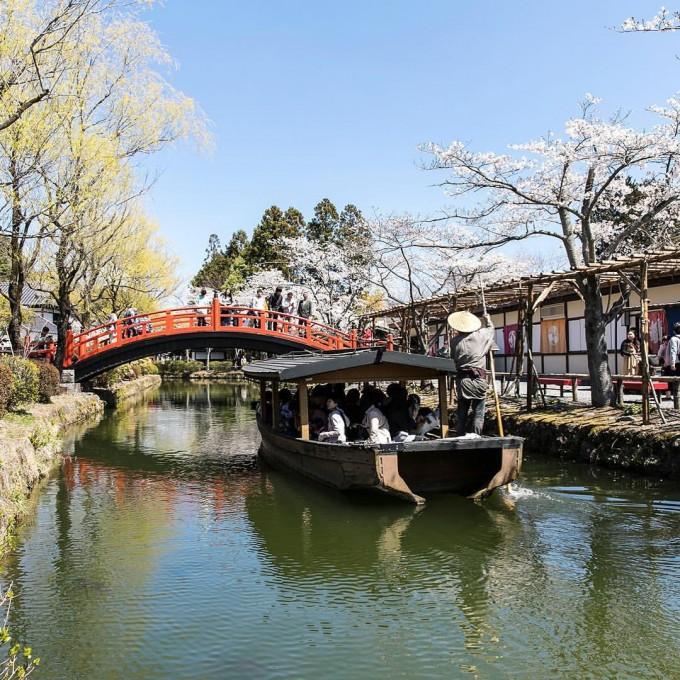 日光江戸村 屋形船
