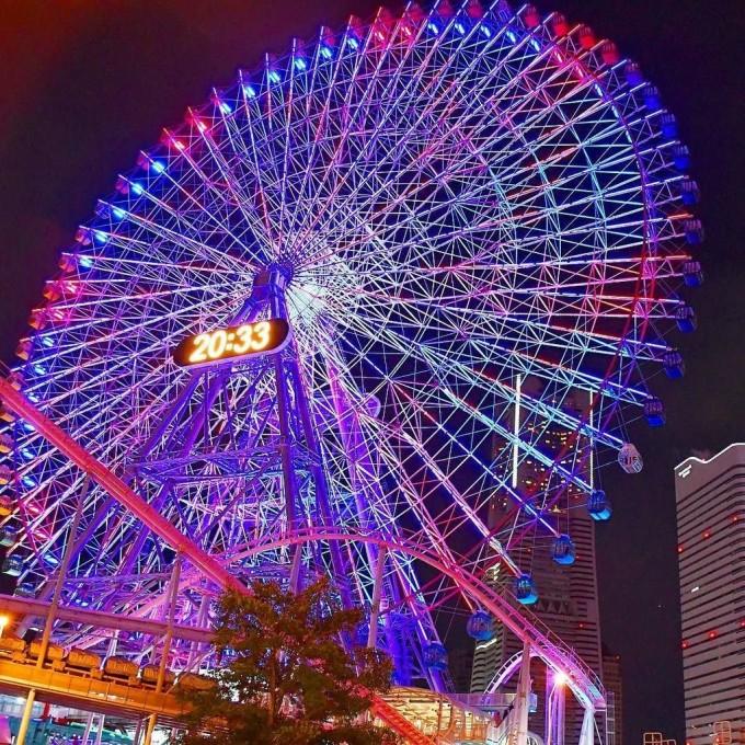 横浜コスモワールド  大観覧車