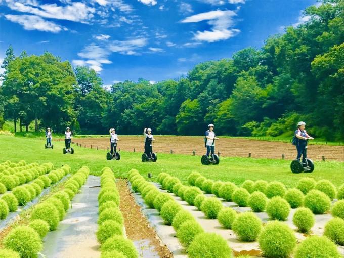 武蔵丘森林公園 セグウェイ