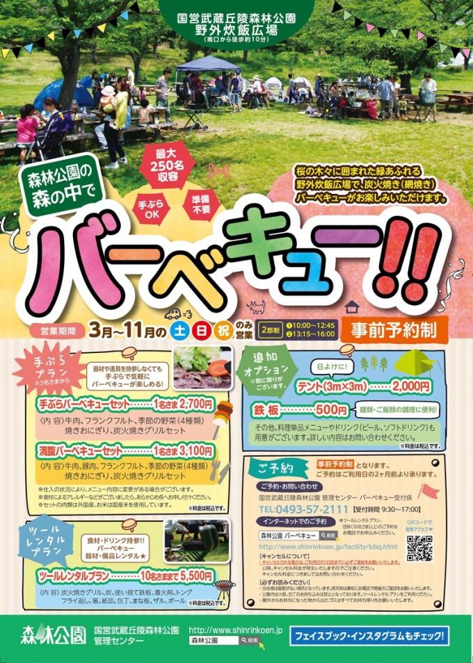武蔵丘森林公園 BBQ