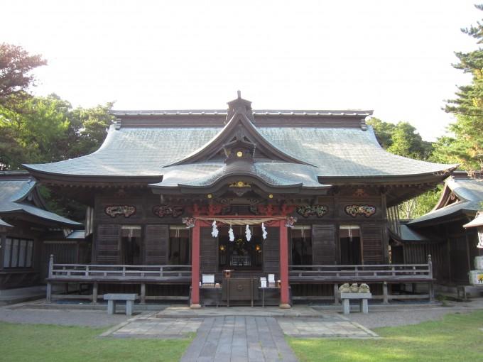 大洗磯前神社 拝殿