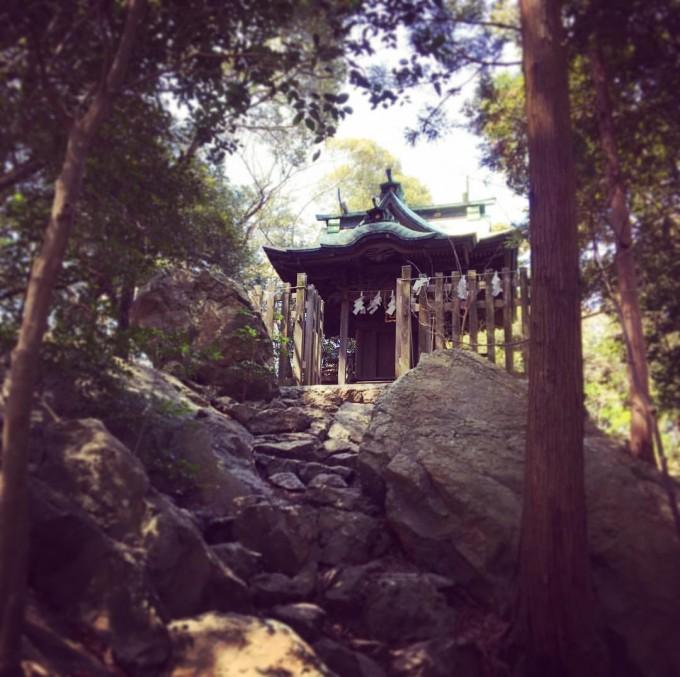大甕神社 宿魂石