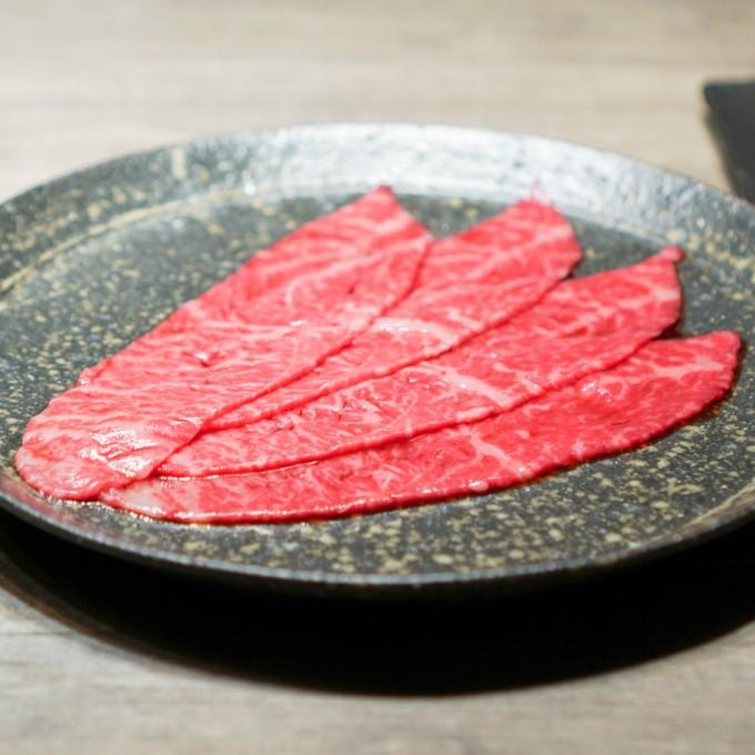 鳥取県田村牧場 イチボの醤油だれ 塩おろしわさび添え