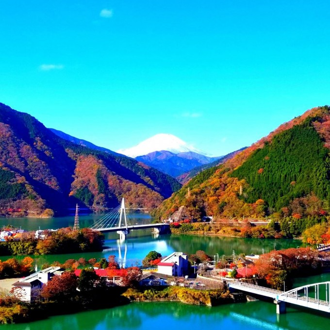 丹沢湖 紅葉