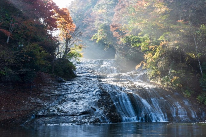 栗又の滝 紅葉