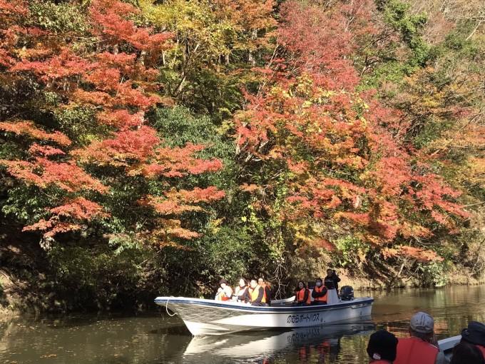 亀山湖 遊覧