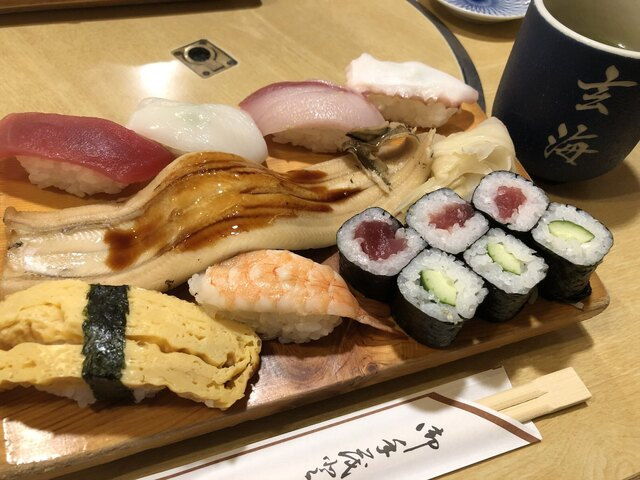 玄海寿司 デカ握り