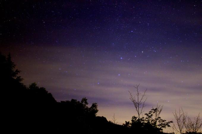 奥多摩湖 星