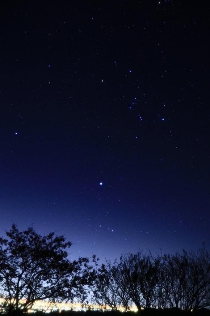 堂平観測所ドーム 星
