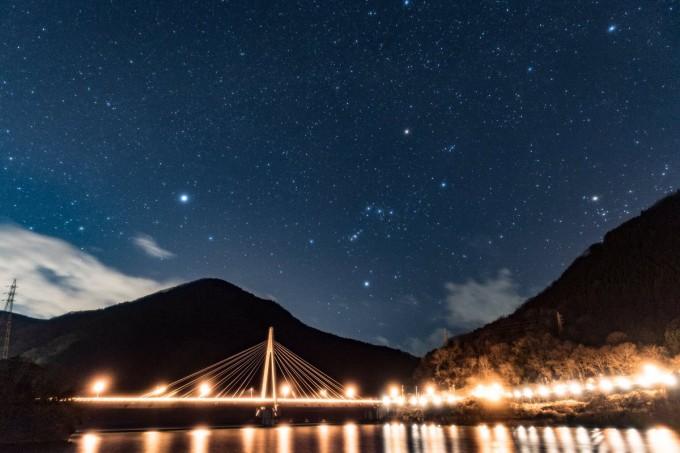 丹沢湖 星空