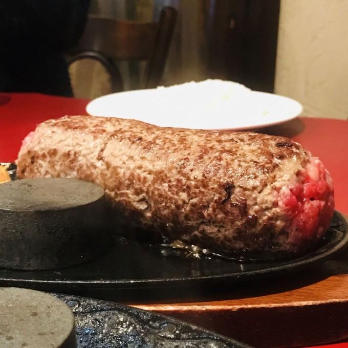 水戸デカ盛り 夢浪漫 ローストビーフ