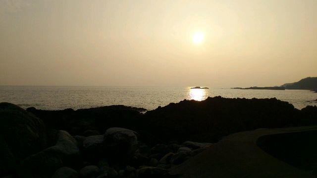屋久島の海中温泉
