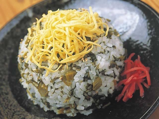 熊本 ご当地グルメ 高菜めし