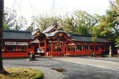 鹿児島 御朱印 枚聞神社