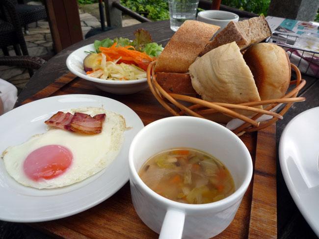 カレント朝食