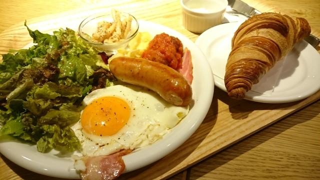 ハミング朝食