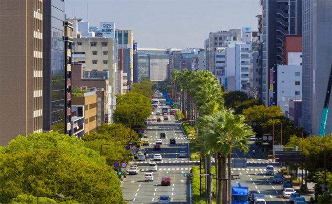 福岡市内を半日で巡る観光モデルコース