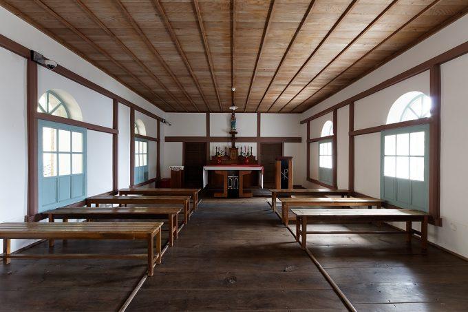 大野教会堂内部