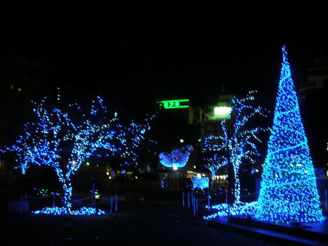 熊本市街イルミネーション2