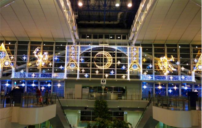 福岡空港イルミネーション