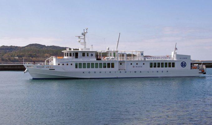 甑島高速船