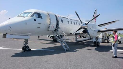 喜界島飛行機