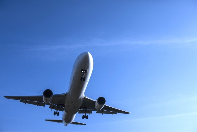 徳之島飛行機