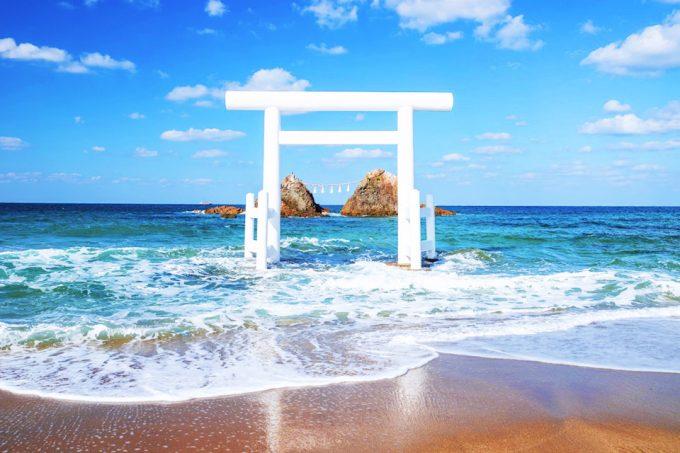 福岡 インスタ映え 二見ヶ浦3