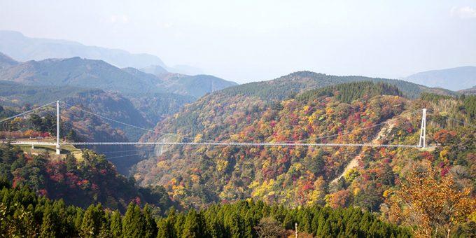 大分県 インスタ映え 吊り橋