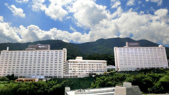 大分県 インスタ映え 杉乃井ホテル