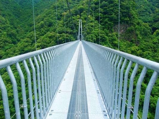 宮崎県 インスタ映え 照葉大吊橋3
