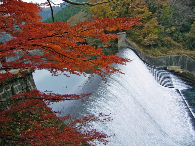 大分県 インスタ映え 白水ダム3