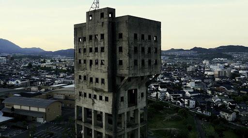 福岡 インスタ映え 竪坑櫓