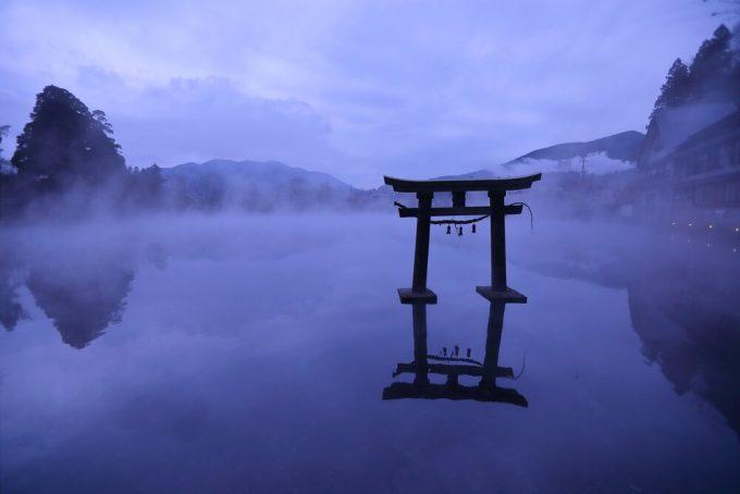 大分県 インスタ映え 金鱗湖2