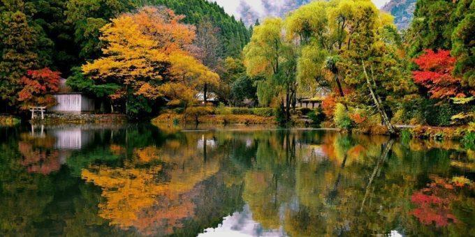 大分県 インスタ映え 金鱗湖3