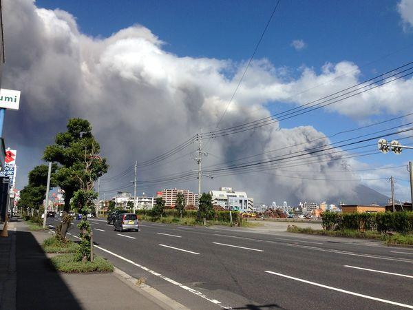 鹿児島 あるある 火山灰