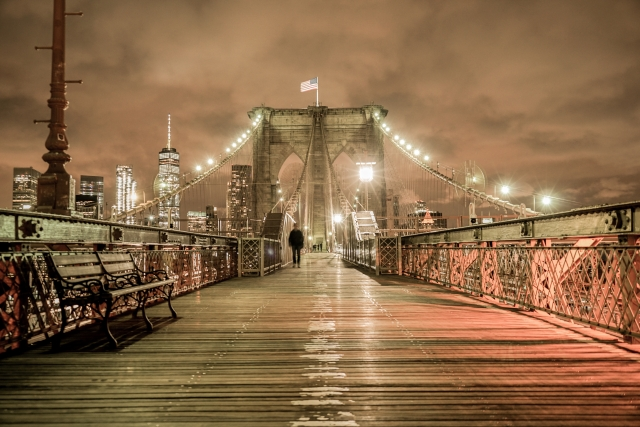 ブルックリンブリッジ(ニューヨーク)